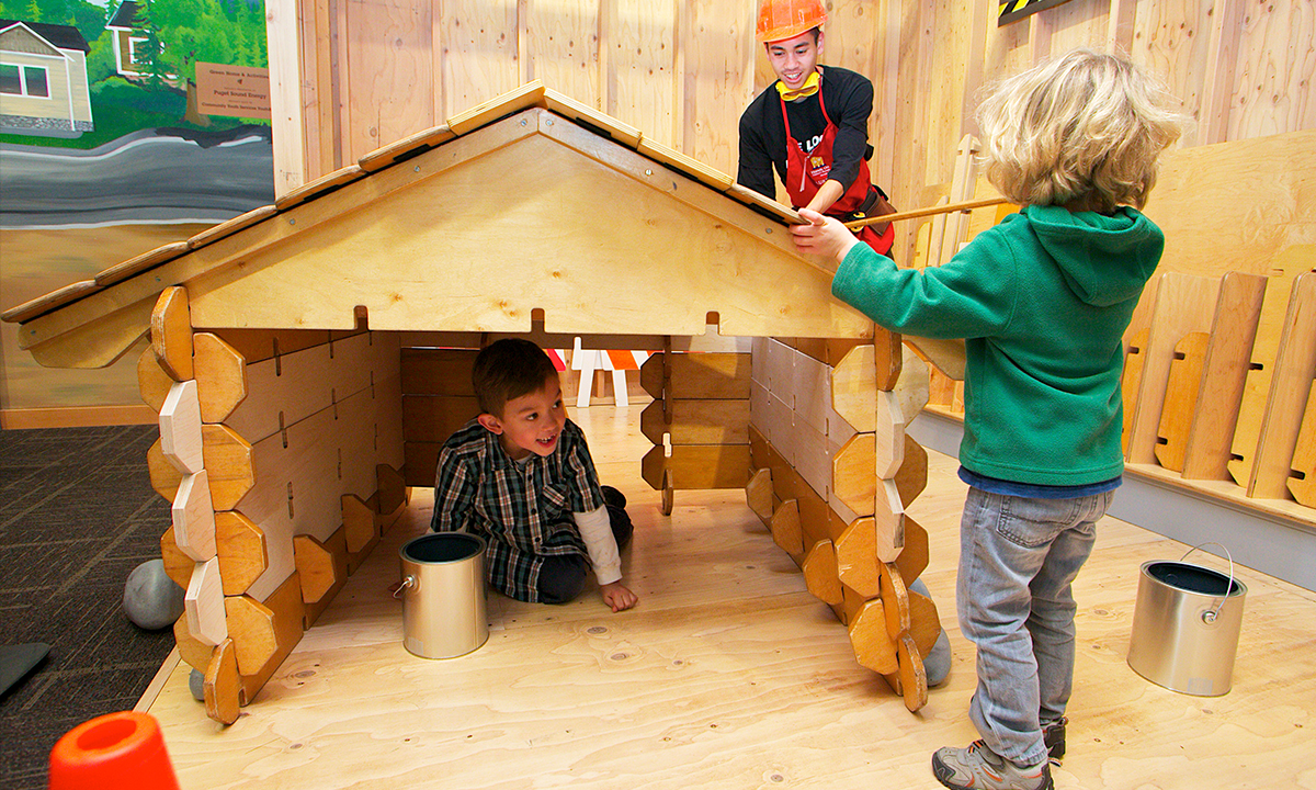 Building a house in the Build It gallery