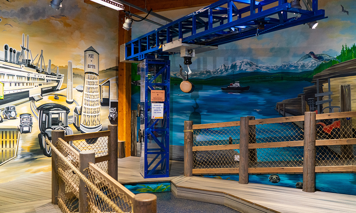 The lumber crane in Puget Sound gallery